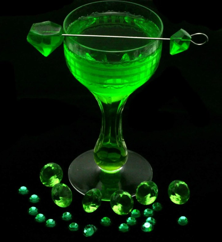 Emerald Green Melon Margarita