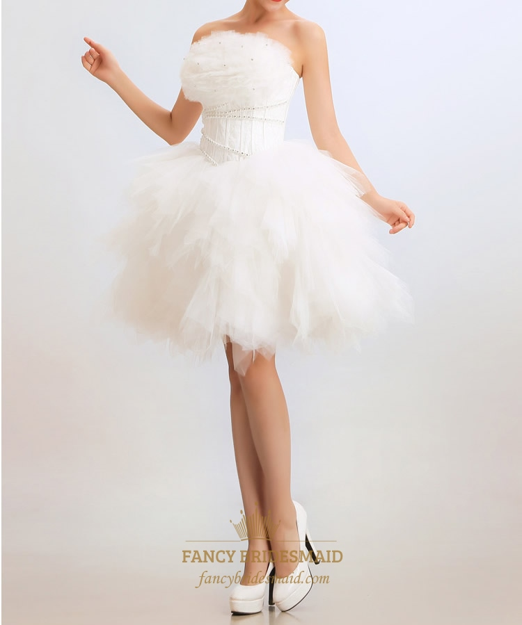 Short Wedding Dresses For Women White Wedding Dress Bridal Dresses Online  Fancy Bridesmaid