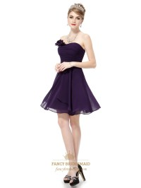 Short Dark Purple Bridesmaid Dresses Under 100,Short