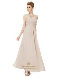Rose Pink Bridesmaid Dresses With Straps,Vintage Rose Pink ...