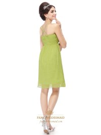 Lime Green Mini Dress,Lime Green Short Prom Dresses With
