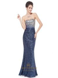 Sparkly Sequin Long Prom Dresses 2016,Glitter Women's ...