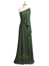 Green Chiffon Bridesmaid Dresses - Wedding Dresses In Jax