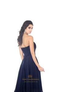 Navy Blue Knee Length Bridesmaid Dresses   www.imgkid.com ...