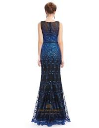 Blue Lace Mermaid Prom Dress | www.imgkid.com - The Image ...