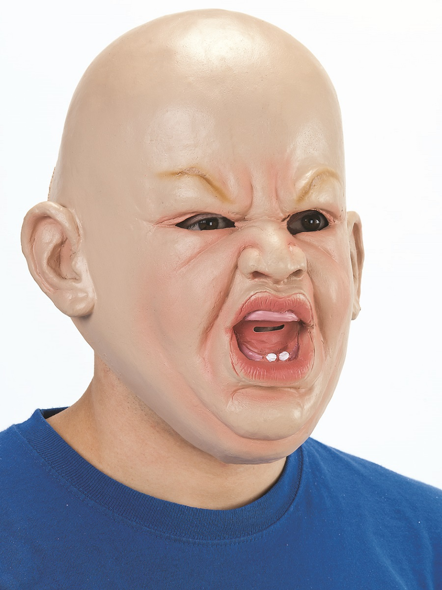 Adult Angry Baby Mask  BM403  Fancy Dress Ball
