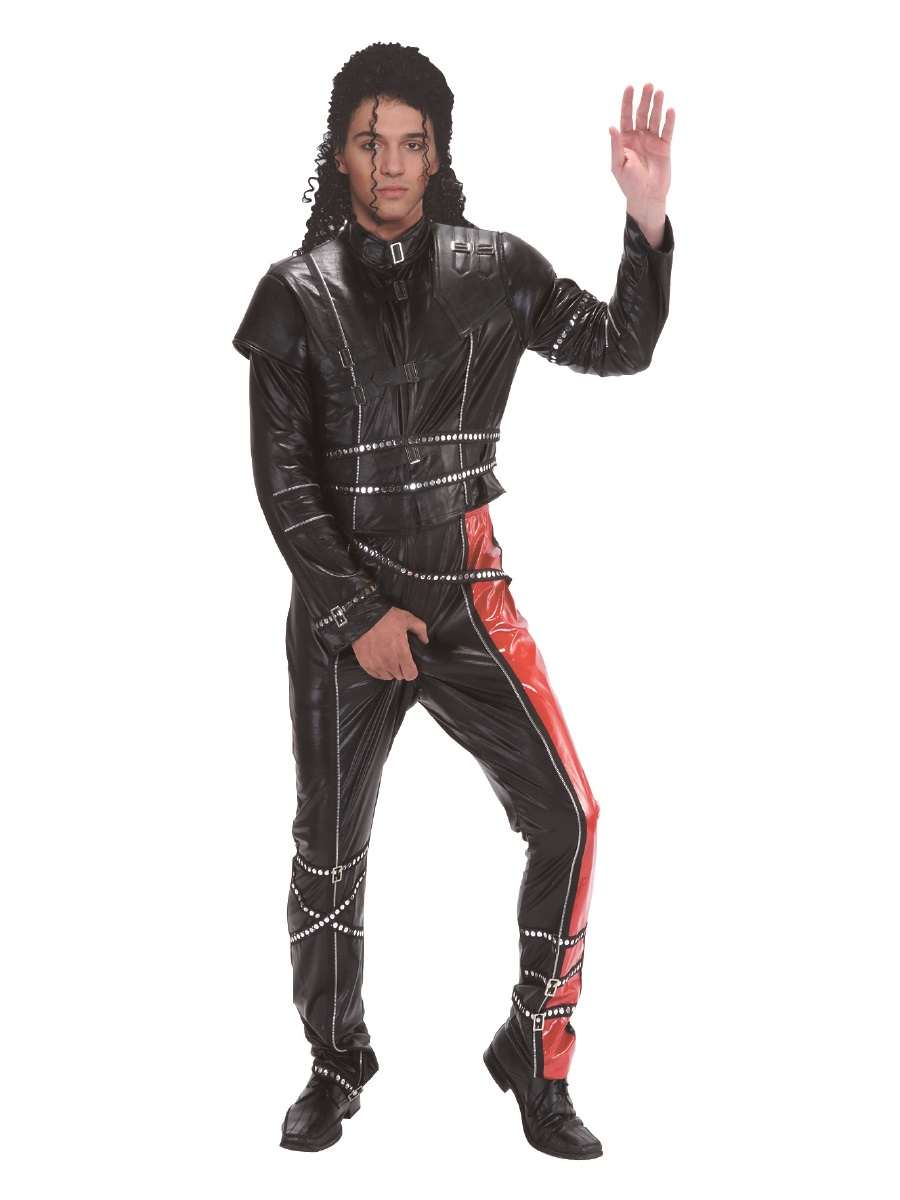 Adult Bad Lad Michael Jackson Costume  3164B  Fancy Dress Ball
