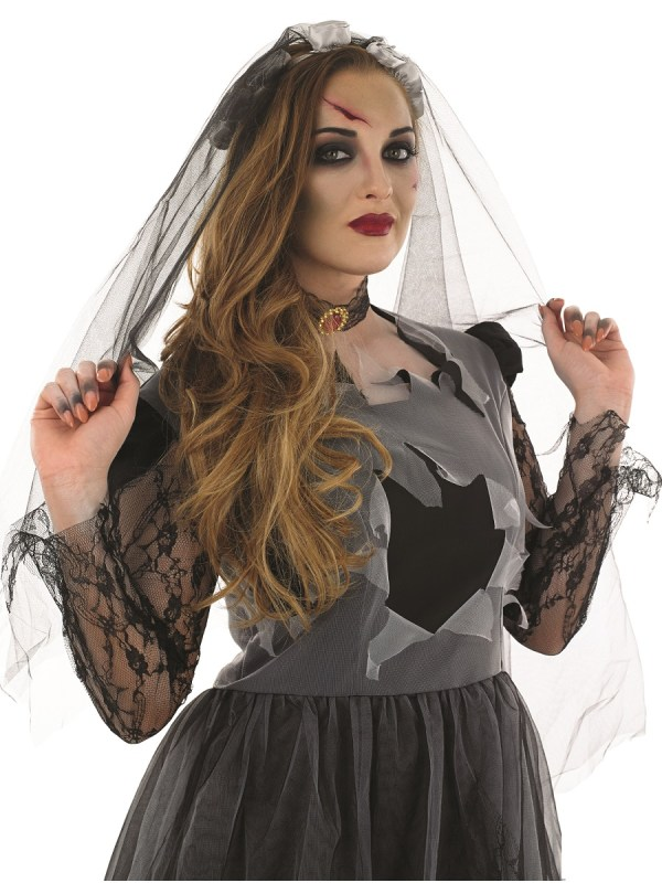 Adult Black Corpse Bride Costume - Fs3054 Fancy Dress Ball
