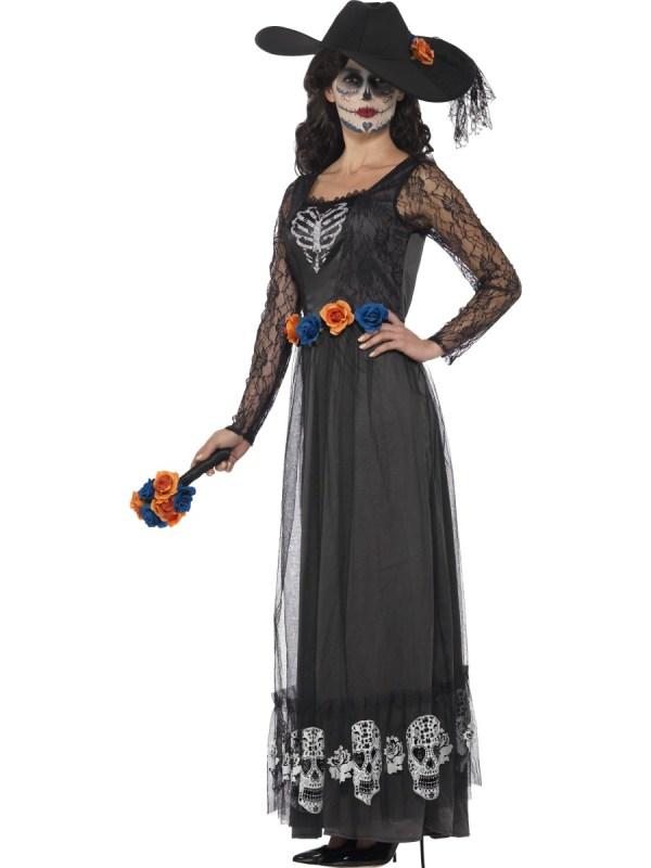 Day of the Dead Bride Costume Women