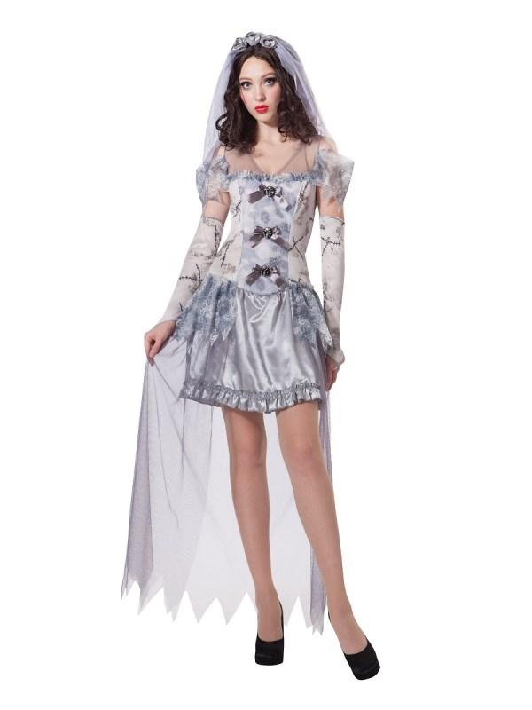 Adult Ghost Bride Costume - Ac123 Fancy Dress Ball