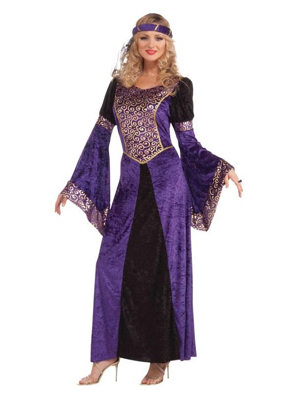 Adult Ladies Medieval Maiden Costume - Ac189 Fancy Dress