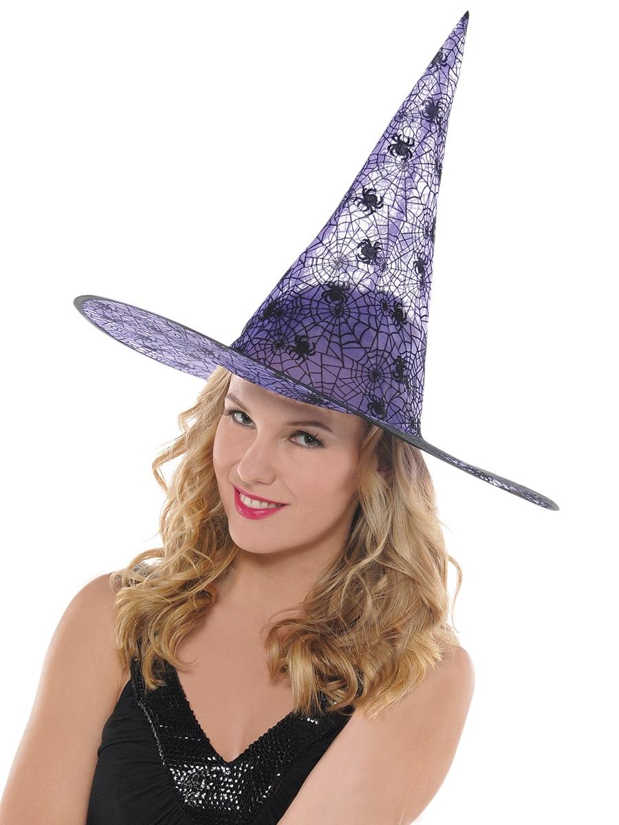 Adult Purple Witch Hat 841022 55 Fancy Dress Ball