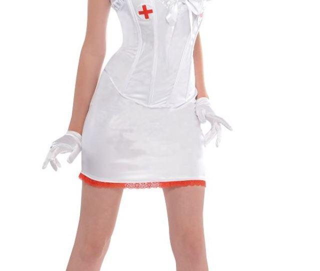Adult Sexy Nurse Costume  C2 B7 View Full Image