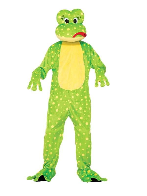 Frog Mascot Costume Adults