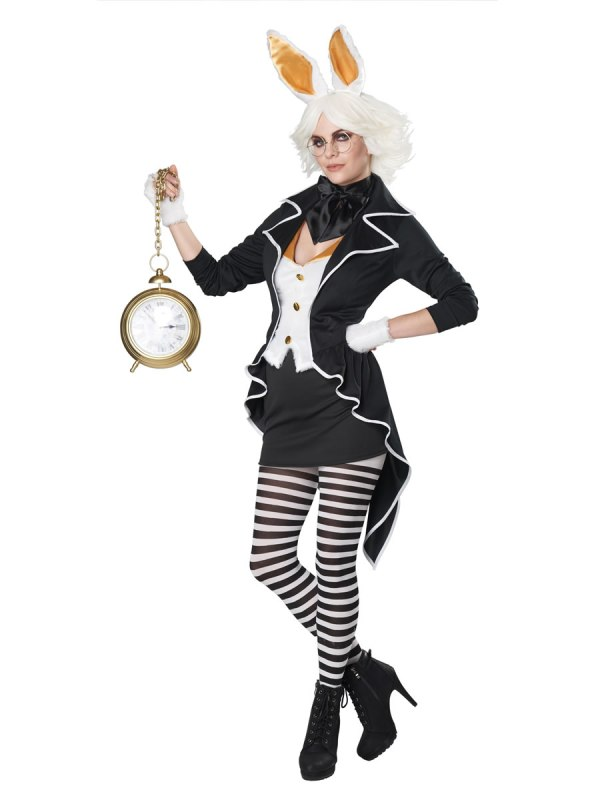 Adult White Rabbit Costume - 00771 Fancy Dress Ball