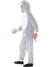 Child Grey Dog Costume - 49729 - Fancy Dress Ball