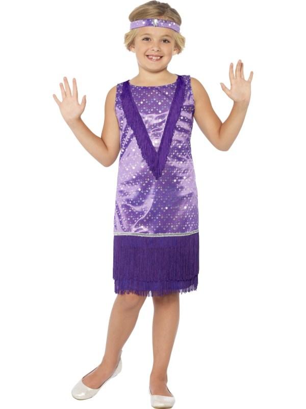 Child Tallulah Flapper Costume - 44102 Fancy Dress Ball