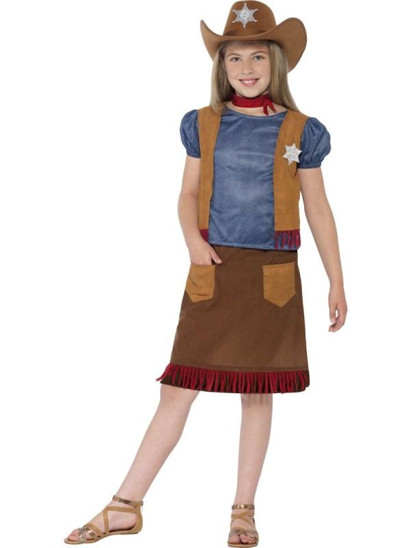 Child Western Belle Cowgirl Costume - 24669 Fancy Dress Ball