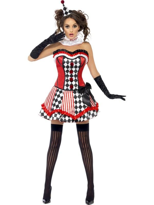 Adult Fever Boutique Clown Cutie Costume - 41038 Fancy Dress Ball