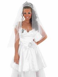 Adult Gypsy Bride Wedding Dress - FS3239 - Fancy Dress Ball