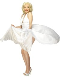 Adult Marilyn Monroe Costume - 30355 - Fancy Dress Ball