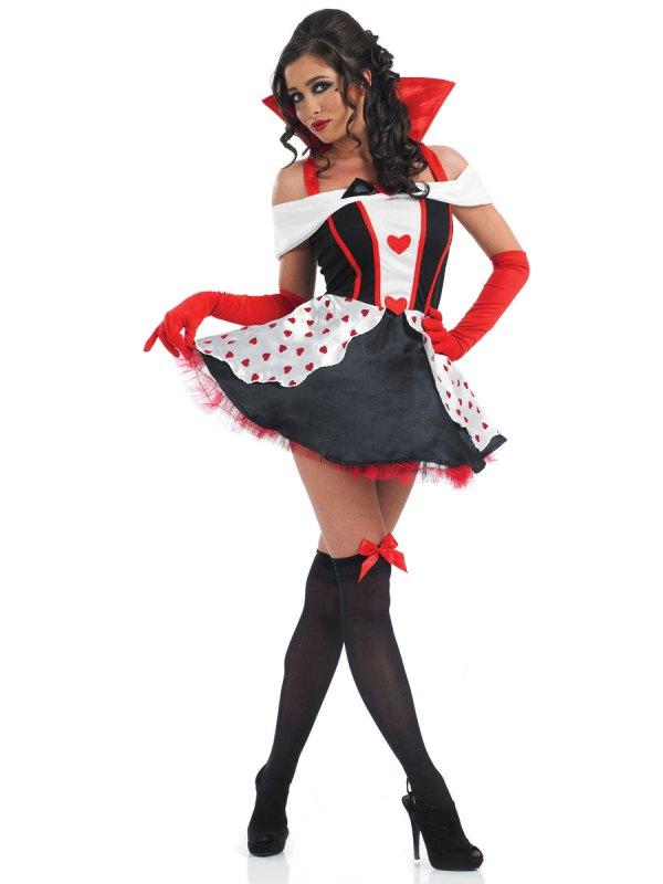 Queen Of Hearts Costume - Fs2939 Fancy Dress Ball