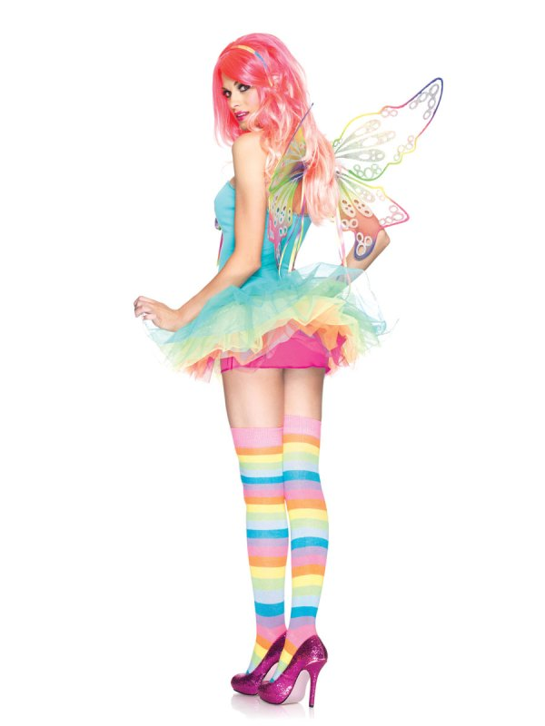 Adult Rainbow Fairy Costume - 83917 Fancy Dress Ball