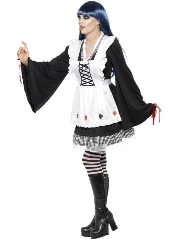 Gothic Alice in Wonderland Sexy Costume