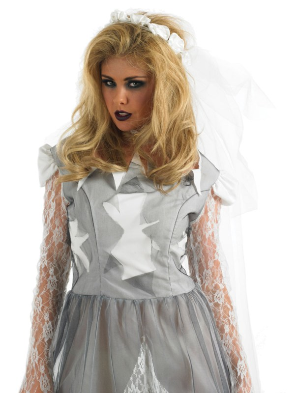 Adult White Corpse Bride Costume - Fs3053 Fancy Dress Ball