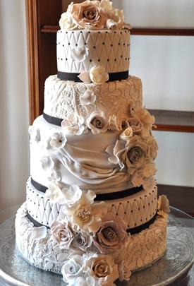 Unique Wedding Cakes Bridal Hair Stylist And Makeup