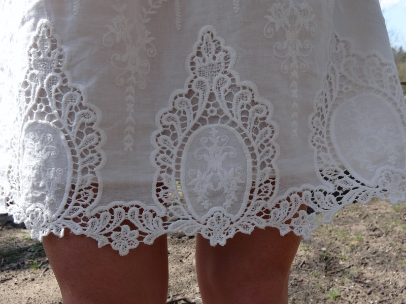 Embroidered Lace