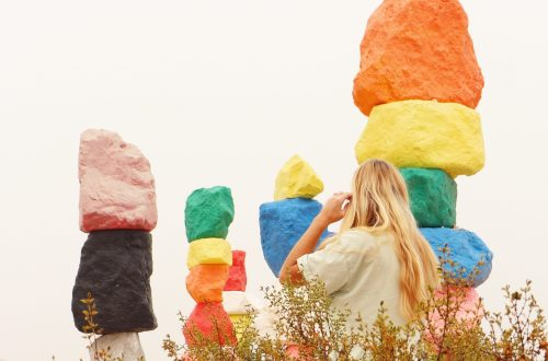 Seven Magic Mountains for Instagram