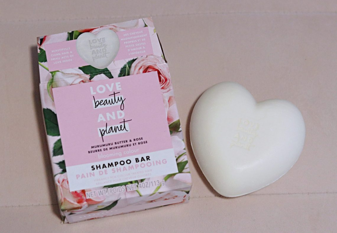 love beauty and planet shampoo bar