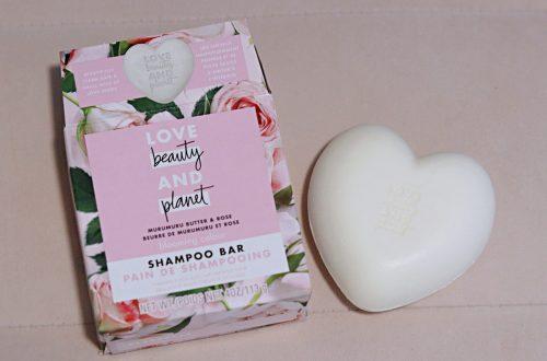 love beauty and planet shampoo bar