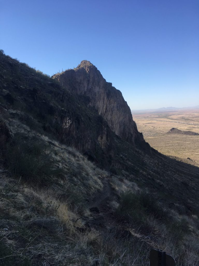 side of mountain