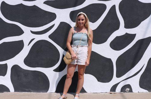 black and white wall LA