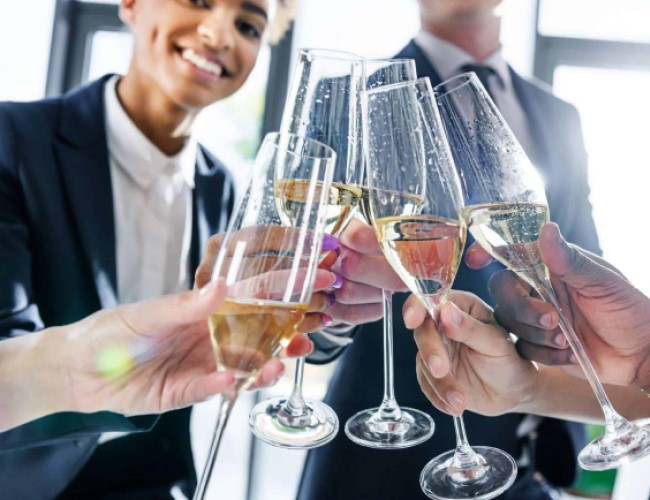 Prosecco for those Corporate Events