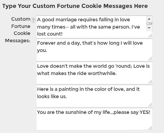 fortune cookie sayings custom cookies personalized