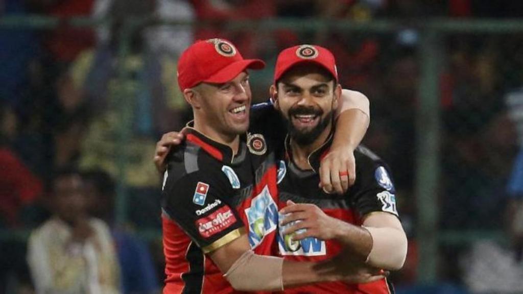 AB de Villiers shared batting insights between him and Virat Kohli