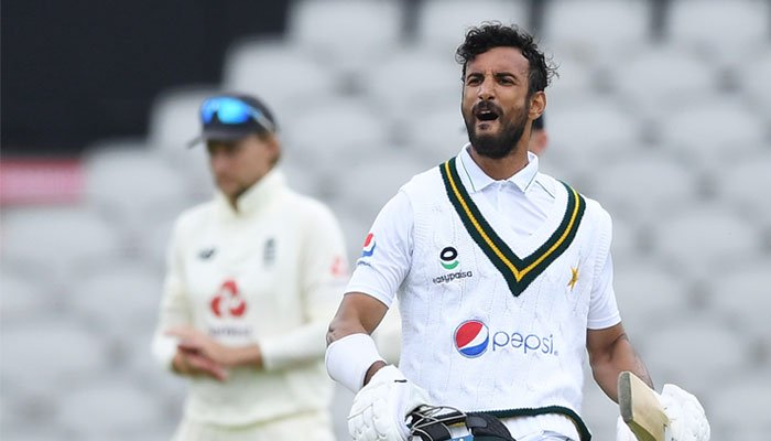 Shan Masood's record century helps Pakistan reach a good score on day 2
