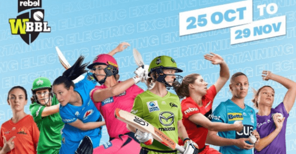 6th Women's Big Bash League full schedule and squads