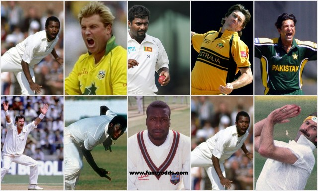 Top Ten Bowlers of All Time | List of Top 10 Best Bowlers in the World