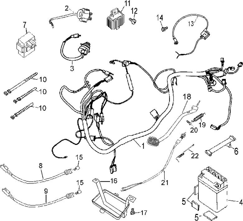 49cc Pocket Bike Wiring Diagram. Parts. Wiring Diagram Images
