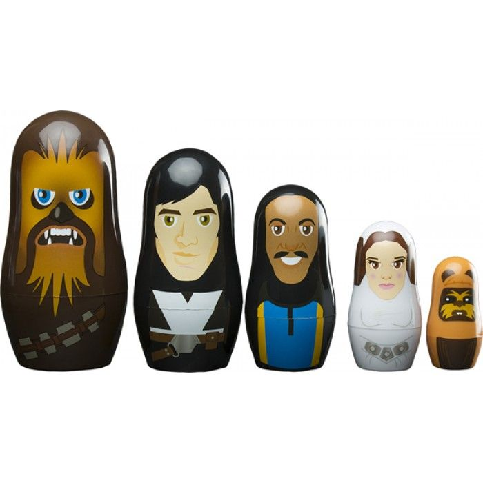 POUPEES RUSSES STAR WARS PERSONNAGES REBELLION