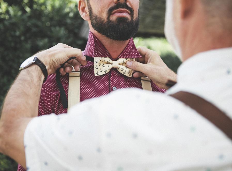 09 pajarita novio padre anclas boda