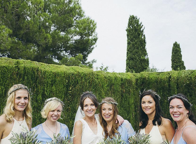 41 novia con damas de honor