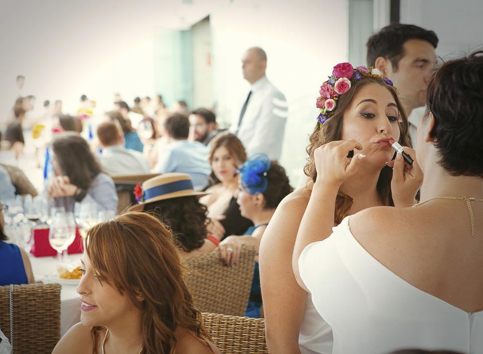 61 retoques de maquillaje de novia