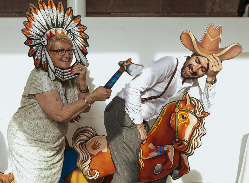 12 caballo indio photocall para bodas fandi