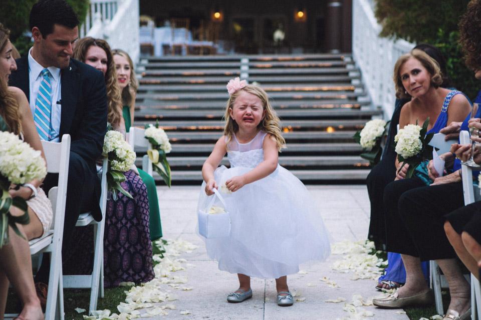 21 niña que llora nervios boda