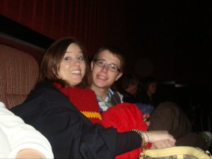 Midnight showing for Deathly Hallows Part !